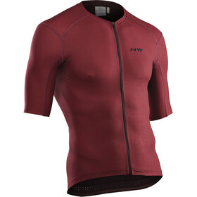 Northwave Stealth Maillot manches courtes Homme, bordeaux